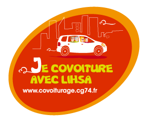 Covoiturage sticker