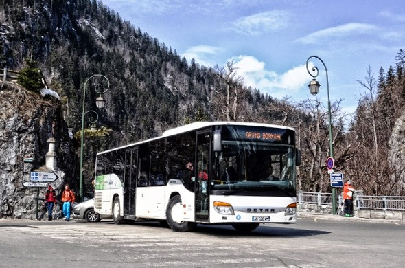 Shuttles and buses