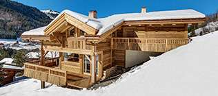 Chalets with services