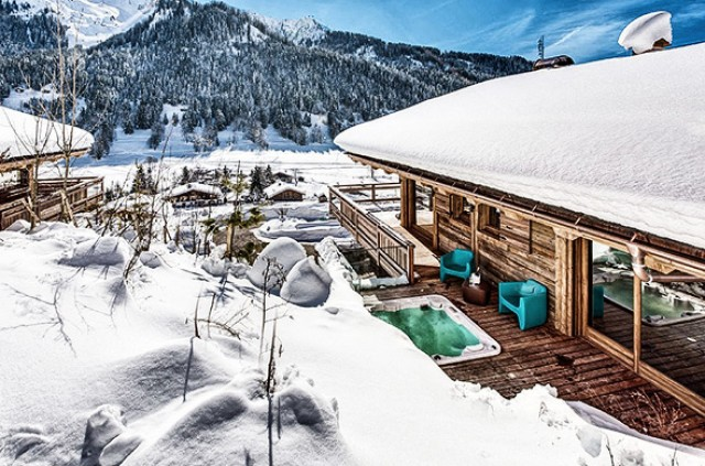 Luxury chalets