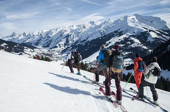 Ski touring itineraries
